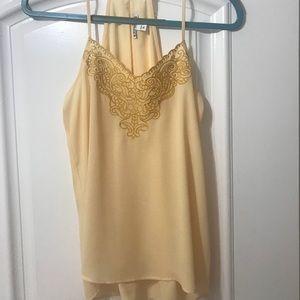 Yellow camisole
